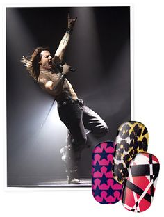 Rock of Ages Inspires New #SallyHansen Nail Strips   http://news.instyle.com/2012/05/30/sally-hansen-nail-strips-rock-of-ages/