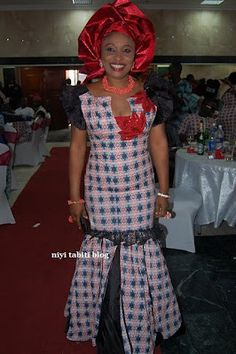 PHOTOS:NIGERIAN WOMEN IN LACE AND ANKARA DESIGNS | Gistmaster
