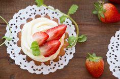Tortinha de Morango   Vídeos e Receitas de Sobremesas