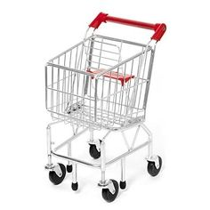 Kids Grocery Shopping Cart Pretend Play Toddler Store Food Child Little Small  #MelissaDoug
