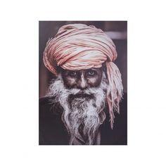 Lerretsbilde Indisk mann