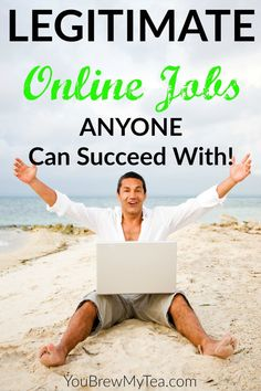 Check out these 7 Legitimate Jobs ANYONE can succeed with for great ideas to begin your own work from home business!
