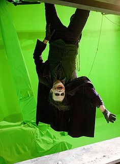 The most amazing villian of all times. What's so geeky about it you ask? The green screen and the fact thats its a super hero movie