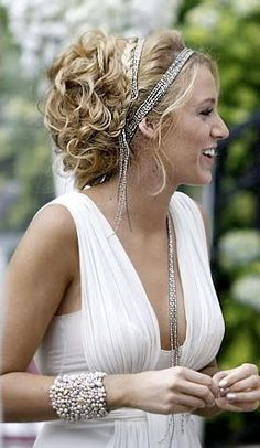 loved this look from gossip girl as wedding inspiration