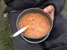 This meal is my favorite. It goes on every single backpacking trip. I never get tired of it. Clients love this recipe. Hiking Food, Backpacking Food, Camping Meals, Camping Recipes, Ultralight Backpacking, Kayak Camping, Camping Jokes, Camping Dishes, Camping Hammock