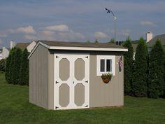 Back yard shed.