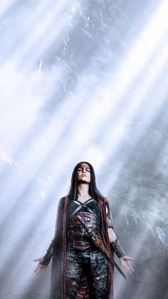The 100 Octavia Lexa The 100, The 100 Clexa, The 100 Cast, The 100 Show, The 100 Characters, Female Characters, Avgeropoulos Marie, The 100 Serie, The 100 Poster