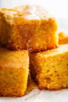 Easy Buttermilk Cornbread (Best Sweet Cornbread) - Cafe Delites