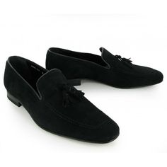 84c3bc192b3 Black Suede Loafers Men Black Suede Loafers