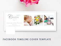 Facebook Timeline Cover - Photography Templates - Photographer Templates - Facebook Banner Design - INSTANT DOWNLOAD by ByStephanieDesign on Etsy