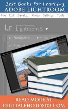 Best Adobe Photoshop Lightroom Books | Digital Photos 101