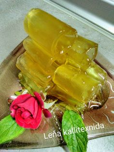 Jam Recipes, Greek Recipes, Candy Recipes, Greek Dishes, Celery, Rolls, Sweets, Vegetables, Desserts