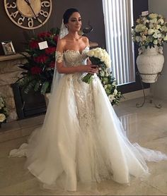 Cheap wedding dress sweetheart, Buy Quality bridal gown directly from China mermaid wedding dresses Suppliers: 2017 Sexy Off Shoulder Mermaid Wedding Dress Sweetheart with Detachable Train Tulle Bride Dresses Robe de Mariage Bridal Gowns Wedding Dress Train, Lace Mermaid Wedding Dress, Wedding Dress Sleeves, White Wedding Dresses, Mermaid Dresses, Bridal Dresses, Wedding Gowns, Bridesmaid Dresses, Dress Lace