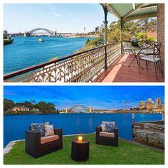 Sale of the week 5 Simmons Street, Balmain East, NSW 4 bed,2 bath, 2 car $6,560,000