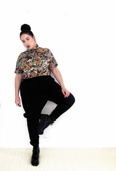 plus size fashion 9 Plus Size Cuties Share Tips For Androgynous Style Qwear Queer Fashion, Butch Fashion, Fat Fashion, Curvy Fashion, Look Fashion, Plus Size Fashion, Girl Fashion, Fashion Outfits, Fashion Tips