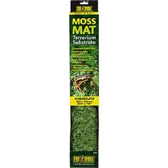 Exo-Terra Moss Mat Terrarium Substrate// This would be perfect for the crested gecko tank.