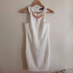 white body con dress brand new 33 inches long still has tags attached Dresses Mini