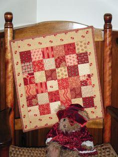 Red Prairie Quilt