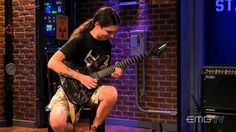E Rock, Eric Calderone performs Hayley's Comet on EMGtv