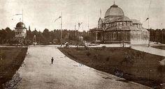 1900. Palacio de Cristal y templete árabe. Fotografía de Lacoste.   Flickr - Photo Sharing!