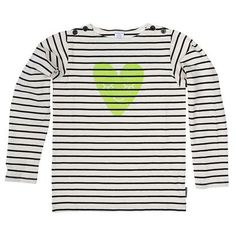 SAILOR STRIPE WINK TOP++Polarn O. Pyret for the littles for valentine's day!