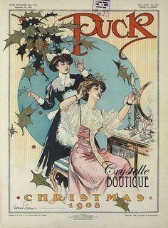 Christmas 1908  Free Vintage Printable