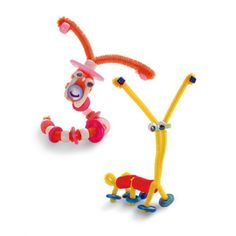 Pipe cleaner and bead bugs