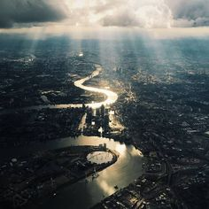 """A photograph entered into the Sony World Photography Awards 2016 by British photographer #MariaFarrelly shows an aerial view of London. The judges of the…"""