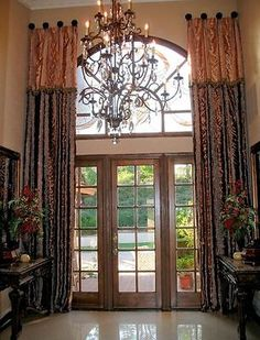 After years of fabricating custom draperies for clients, I have a formula that I follow and it works well for me. To illustrate which window coverings look great, I've collected pictures of curtains that...