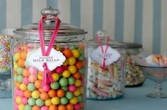 candies, candy, candy shop, colors, food, jars
