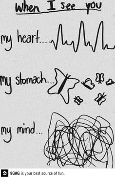 Every time I see my crush in school