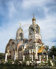 Church Of The Holy Prince Vladimir, Sochi, Russia
