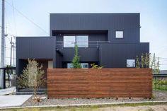 Minimalist House Design, Minimalist Architecture, Minimalist Home, Modern Architecture, Interior Exterior, Exterior Design, Japanese Style House, My House Plans, New Home Designs
