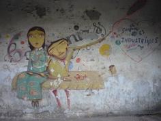 Grafitti in Havana
