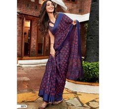 Product ID: Work Type: Print Saree Color: Blue Blouse Color: Blue Saree Fabric: Kota Brasso Blouse Fabric: Kota Brasso Saree Size: Metres Blouse Piece Size: Metres Blouse is delivered Unstitched N Kota Silk Saree, Blue Saree, Net Saree, Traditional Fashion, Traditional Sarees, Traditional Outfits, Fancy Sarees, Party Wear Sarees, Ethnic Fashion