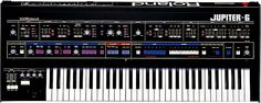 A Roland Jupiter 6 synthesizer as used by The Shamen, The Human League, Mobi, Devo and Trans X.