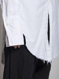 Elena Dawson Long Shirt detail #ElenaDawson #BlackCelebrationStore blackcelebrationstore.com