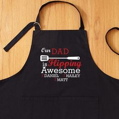Need a unique gift? Send Flipping Awesome Grilling Apron and other personalized gifts at Personal Creations. Trending Christmas Gifts, Christmas Gift For Dad, Unique Christmas Gifts, Christmas Crafts, Unique Gifts, Parent Gifts, Fathers Day Gifts, Dad Gifts, Grill Apron