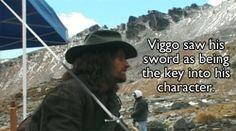 Viggo Mortensen + His Sword = Shady - Imgur  :gif: