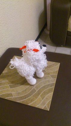 NOVEDADES JENPOALI: PERRITA FRENCH AMIGURUMI Crochet Toys Patterns, Amigurumi Patterns, Stuffed Toys Patterns, Doll Patterns, Perros French Poodle, French Poodles, Crochet Gratis, Knit Crochet, Yarn Projects