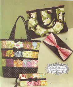 Victorian Edwardian Handbag Pattern Evening Bag Historical Purse Brides Sewing Vogue 7252 5 Styles Of Bags Handbags Pinterest
