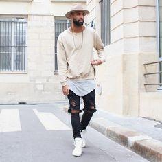 "Stephane Adonai CHMPS?!PARISSE on Instagram: ""Beige  ... @champaris75  #champaris"" Urban Fashion, Love Fashion, Mens Fashion, Guy Fashion, Fashion Outfits, Modern Fashion, Boy Outfits, Style Fashion, Fashion Ideas"
