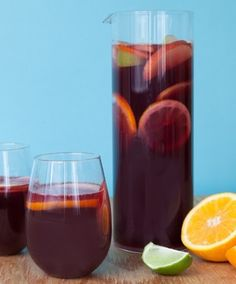 The ultimate recipe for summer Sangria!