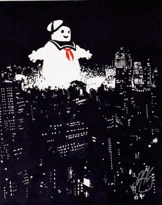 """Staypuft"" by Dennis Hansbury, 8X10 print, signed"