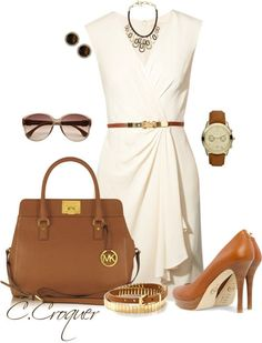 """""""Head to Toe Michael Kors"""" by ccroquer ❤ liked on Polyvore"""
