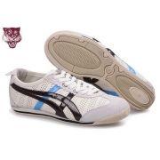 low priced 585b2 699bc Asics Mini Cooper Tiger Chaussures Hommes Blanc Noir Bleu €78.98 €63.33  Economie   20%