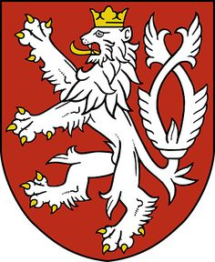 Czechia the heart of Europe | History - Silver lion has become the coat od arms of the Kingdom of Bohemia since 13th century (probably during the reign of Přemysl Ottokar II)