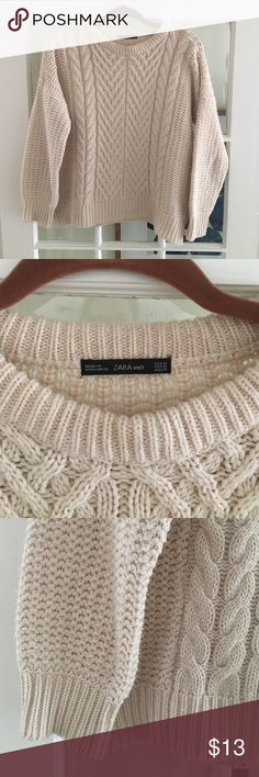 Selling this Zara sweater on Poshmark! My username is: dwool. #shopmycloset #poshmark #fashion #shopping #style #forsale #Zara #Sweaters