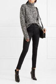 Saint LaurentWool turtleneck sweater