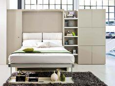 Встроенная кровать: 104 фото, в стену. Шкаф-кровать своими руками. Цена - ЭтотДом